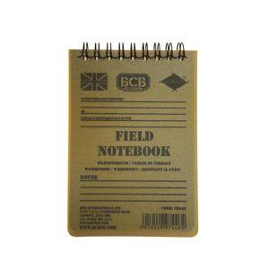 Poľný vodovzdorný zápisník BCB® - zelený