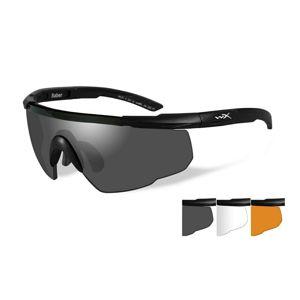 Strelecké okuliare Wiley X® Saber Advanced, súprava (Farba: Khaki, Šošovky: Číre + Dymovo sivé + Oranžové Light Rust)