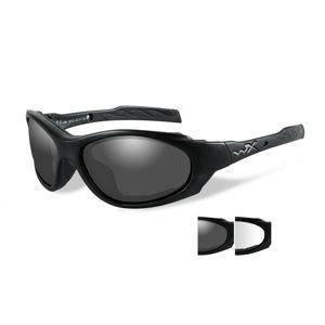 Slnečné okuliare Wiley X® XL-1 Advanced - čierny rámček, súprava - číre a dymovo sivé šošovky (Farba: Čierna, Šošovky: Číre + Dymovo sivé)