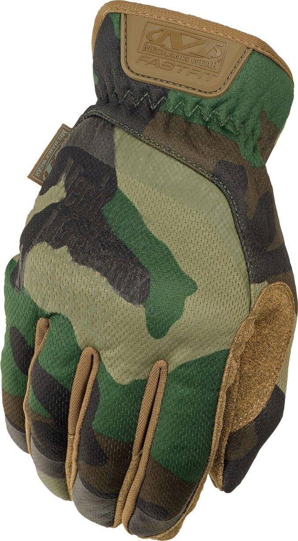 Rukavice Mechanix Wear® FastFit Gen 2 - Woodland Camo (Farba: US woodland, Veľkosť: L)