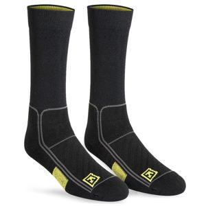 """Ponožky First Tactical® Perfomance 6"""" - čierne (Veľkosť: S/M)"""