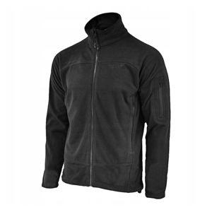 Fleecová mikina Texar® Conger - čierna (Farba: Čierna, Veľkosť: L)