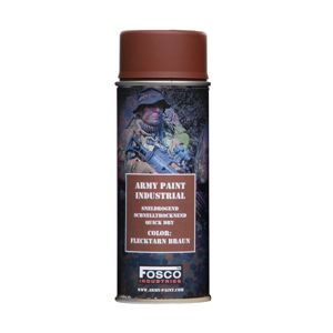 Barva ARMY ve spreji 400 ml FOSCO® - Flecktarn Braun (Farba: Flectarn Brown)