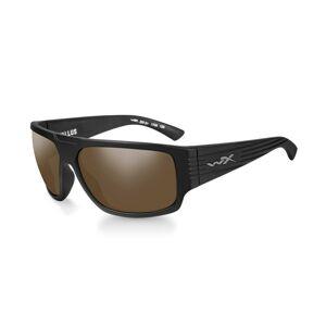 Slnečné okuliare Wiley X® Vallus - rámik čierny, hnedé šošovky Amber polarizované (Farba: Čierna, Šošovky: Hnedé Amber polarizované)