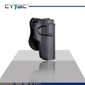 Pištoľové puzdro R-Defender Gen3 Cytac® Beretta 92 - čierne, pravá strana (Farba: Čierna, Varianta: pravá strana)