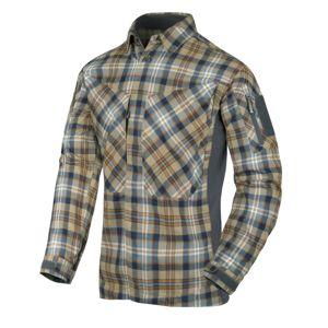 Flanelová košile MBDU Helikon-Tex® - Ginger Plaid (Farba: Hnedá, Veľkosť: XL)
