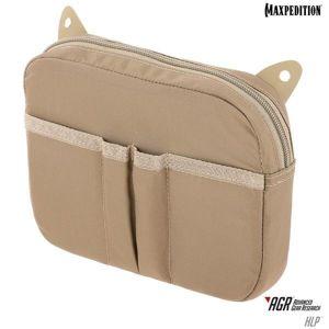 Velcro vnitřní organizér Hook & Loop Maxpedition® – Khaki (Farba: Khaki)