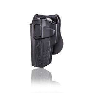 Pištoľové puzdro R-Defender Gen3 Cytac® Beretta 92 - čierne, ľavá strana (Farba: Čierna, Varianta: ľavá strana)