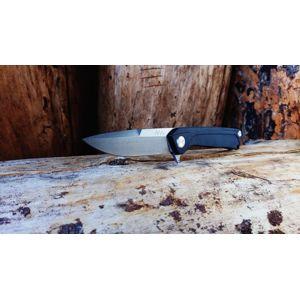 Zavírací nůž ANV® Z100 G10 Liner Lock – Olive Green (Farba: Olive Green , Varianta: DLC ČIERNA ČEPEĽ)