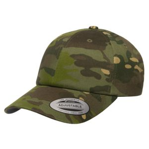 Šiltovka FlexFit® Classics® Multicam® Cotton Twill Dad Cap – Multicam® Tropic (Farba: Multicam® Tropic)