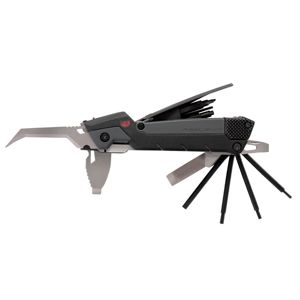Multifunkčný nástroj 30 v 1 GUN TOOL PRO® od Real Avid – Čierna / sivá (Farba: Čierna / sivá)