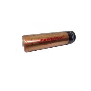 Batéria Powertac® 18650 dobíjacia 2600 mAh – Zlatá (Farba: Zlatá)