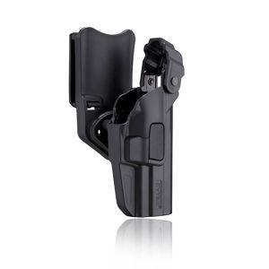 Pištoľové služobné puzdro Level III H&K USP / USP Compact / SFP9 / VP9 Cytac® (Farba: Čierna, Varianta: pravá strana)