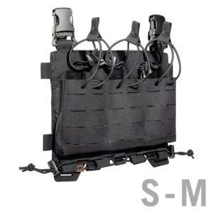 Predný panel na zásobníky M4 / G36 / PMAG / Steyr Tasmanian Tiger® S/M – Čierna (Farba: Čierna)