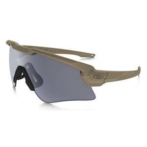 Strelecké okuliare M-Frame Alpha SI Oakley® – Dymovo sivé, Coyote (Farba: Coyote, Šošovky: Dymovo sivé)