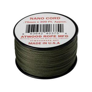 Padáková šnúra Nano Cord (300 ft) ARM® – Olive Drab (Farba: Olive Drab)